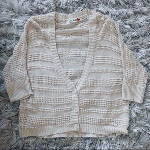 Tan Cardigan by Love By Design